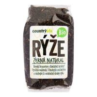 COUNTRY LIFE Rýže černá natural 500 g BIO