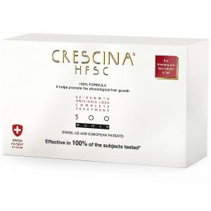 CRESCINA HFSC 100% Péče pro podporu růstu vlasů a proti vypadávání vlasů (stupeň 500) - Ženy 20 x 3,5 ml