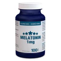 DÁREK CLINICAL Melatonin 1 mg 100 tablet