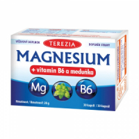 DÁREK Terezia Magnesium + vitamin B6 a meduňka 30 kapslí