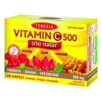 DÁREK  TEREZIA Vitamin C 500mg Trio Natur 60 kapslí