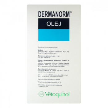 VÉTOQUINOL Dermanorm olej 500 ml