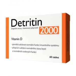 DETRITIN 2000 IU vitaminu D 60 tablet