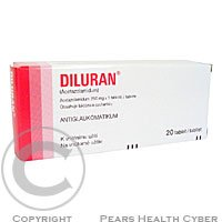 DILURAN  20X250MG Tablety