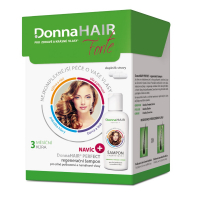 DONNA HAIR Forte 90 tobolek s šampon 100 ml 3 MĚSÍČNÍ kúra