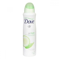 DOVE deo spray 150ml svěží dotek