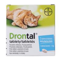DRONTAL pro kočky 2 tablety