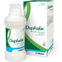 DUPHALAC Perorální roztok k léčbě zácpy 500 ml