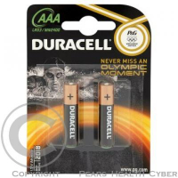 DURACELL Basic baterie AAA 1,5V MN2400 - 2 kusy