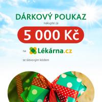 Elektronický dárkový poukaz v hodnotě 5000 Kč