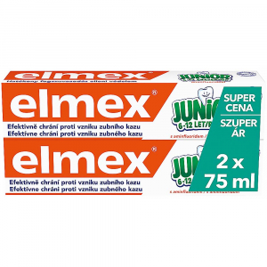 ELMEX Junior Zubní pasta 2x 75 ml