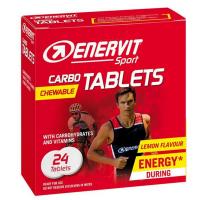 ENERVIT Carbo tablets citron 24 tablet