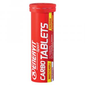 ENERVIT Carbo tablets energetické tablety citron 12 tablet