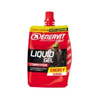 ENERVIT Liquid gel Competition citron + kofein 60 ml