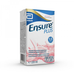 ENSURE Plus roztok s příchutí jahody  220 ml