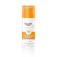 EUCERIN Sun Photoaging Control CC krém na opalování na obličej SPF 50+ světlý 50 ml