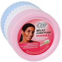 EVA Bělící zubní pudr Mix Menthol + Hřebíček + Fluor 3ks