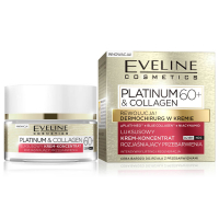 EVELINE COSMETICS Platinum&Collagen day&night face cream 60+ 50 ml