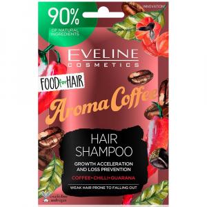 EVELINE Food For Hair Šampon na vlasy Coffee 20 ml
