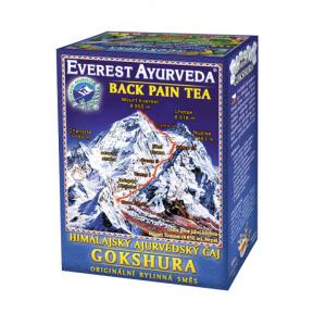 EVEREST AYURVEDA Gokshura uvolnění zádového svalstva 100 g sypaného čaje