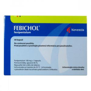 FEBICHOL  50X100MG Tobolky