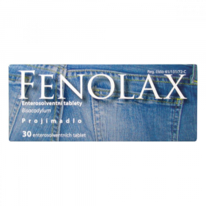 FENOLAX proti zácpě tablety 5mg 30 tablet