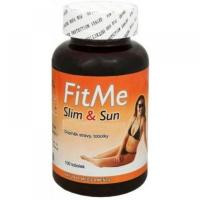 NATURAL MEDICAMENTS FitMe Slim&Sun 100 kapslí na opalování
