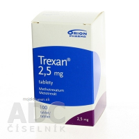TREXAN 2,5 mg 100 Tablet
