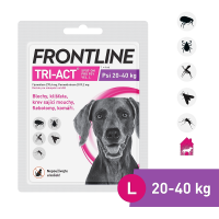 FRONTLINE Tri-Act pro psy Spot-on L (20-40 kg) 1 pipeta
