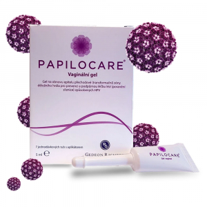 PAPILOCARE vaginální gel 7 x 5 ml