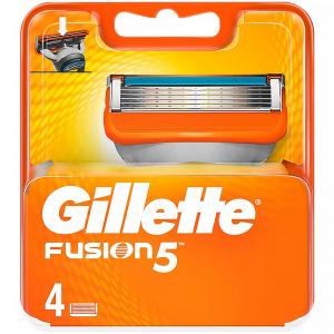 GILLETTE Fusion5 Náhradní hlavice pro muže 4 ks