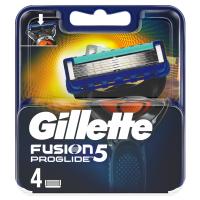 GILLETTE Fusion ProGlide náhradní hlavice pro muže 4 ks