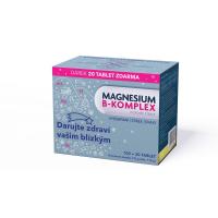GLENMARK Magnesium B-komplex 100+20 tablet VÁNOCE