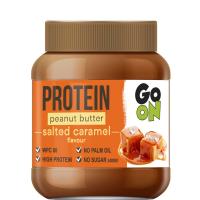 GO ON Proteinové arašídové máslo slaný karamel 350 g