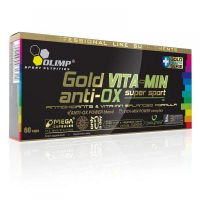 Gold Vita-Min anti-OX, komplexní vitamin+antioxidant, 60 kapslí, Olimp