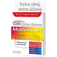 GS Extra Strong Multivitamín 30+10 tablet