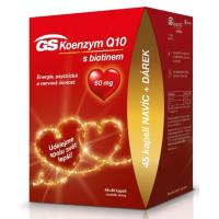 GS Koenzym Q10 60mg 45 + 45 kapslí EDICE 2020