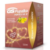 GS Pupalka Forte s vitamínem E 70+30 kapslí EDICE 2020