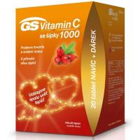 GS Vitamin C 1000 se šípky 100+20 tablet EDICE 2020