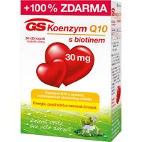 GS Koenzym Q10 30 mg 30+30 kapslí ZDARMA