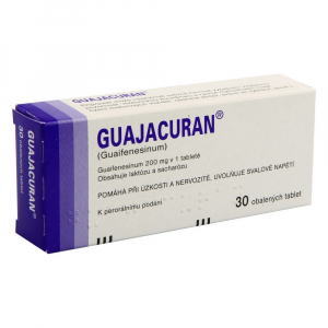 GUAJACURAN 200 mg 30 tablet