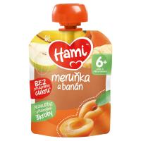 HAMI Ovocná kapsička Meruňka a banán od 6.měsíce 90 g