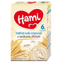 HAMI Mléčná kaše Krupicová s příchutí vanilky 225 g