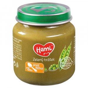 HAMI První lžička Zelený hrášek od 4.měsíce 125 g