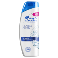 HEAD&SHOULDERS Classic Clean Šampon proti lupům 400 ml