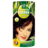 HENNA PLUS Přírodní barva na vlasy BURGUNSKÁ HNĚDÁ 3.67 100 ml