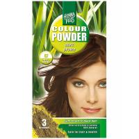 HENNA PLUS Přírodní barva na vlasy prášková TMAVĚ HNĚDÁ 57 100 g