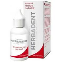 HERBADENT Professional Bylinný roztok na dásně 25 ml