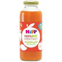 HIPP 100% BIO JUICE Ovocná šťáva s karotkou 330 ml