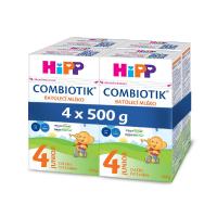 HiPP 4 Junior Combiotik Pokračovací batolecí mléko od 24.měsíců 4 x 500 g